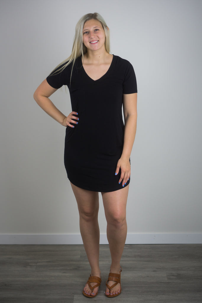 Z Supply Pocket T-Shirt Dress