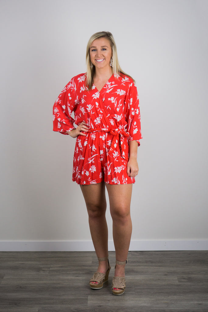 Tropical Vacation Romper