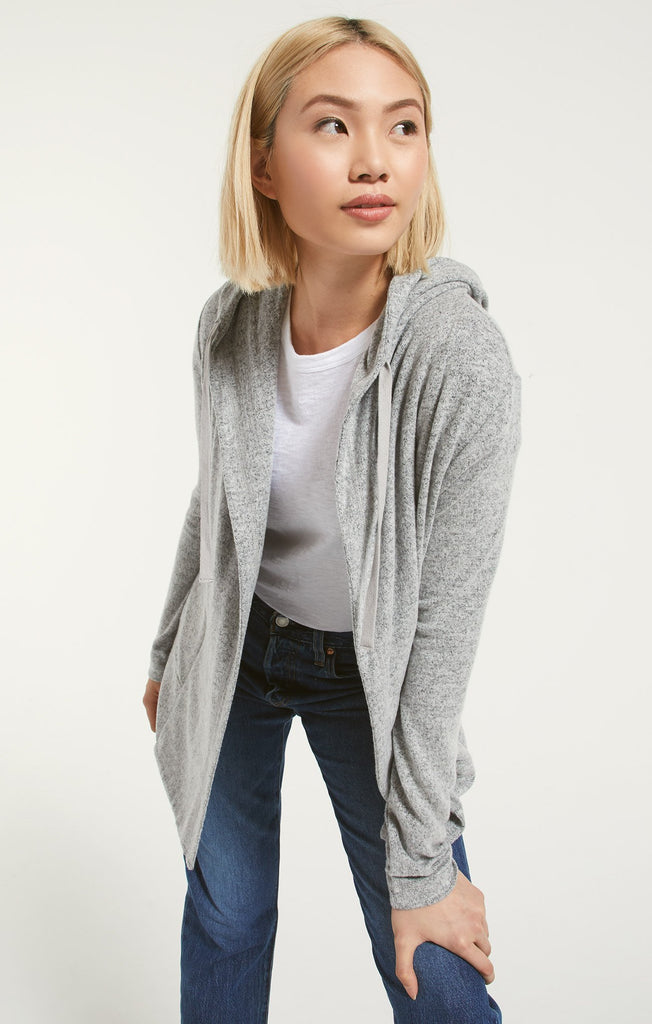 Z Supply Clay Marled Cardigan