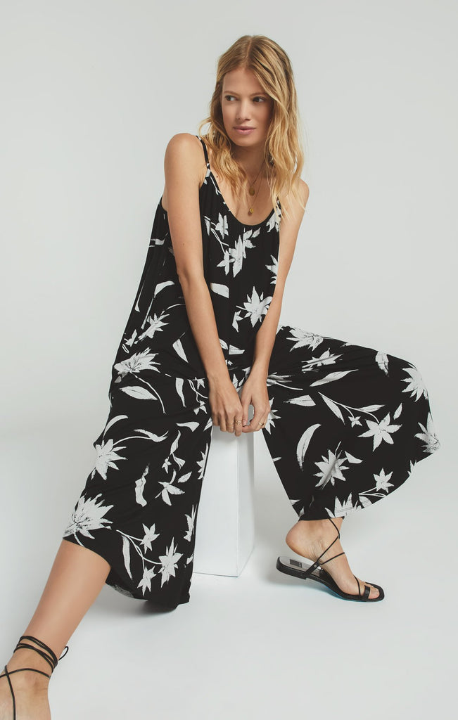 Z Supply Tai Floral Jumpsuit