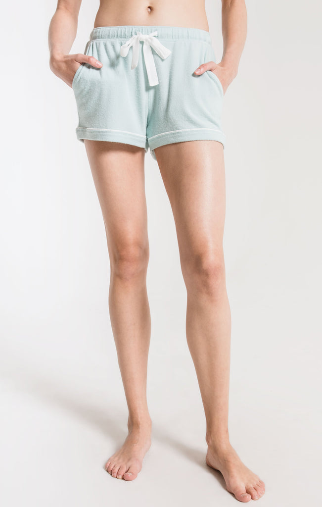 Z Supply Luxe Menswear Pajama Short