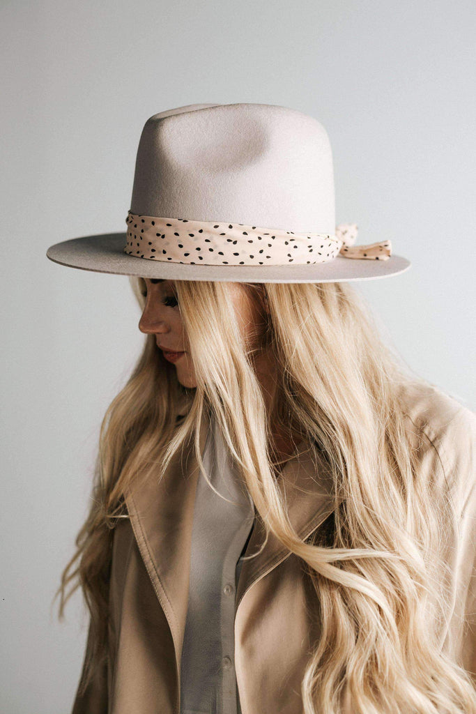 GiGi Pip Teardrop Fabric Hat Band