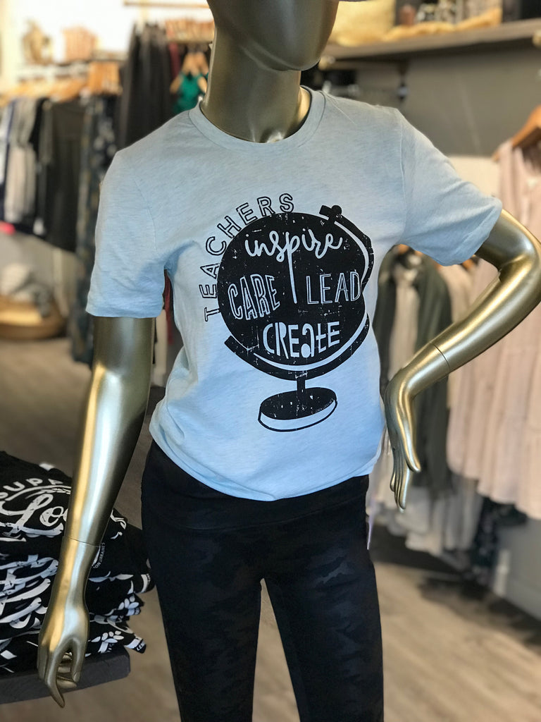 Teachers Inspire Graphic Tee