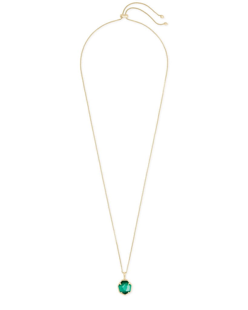 Kendra Scott Cynthia Gold Pendant Necklace