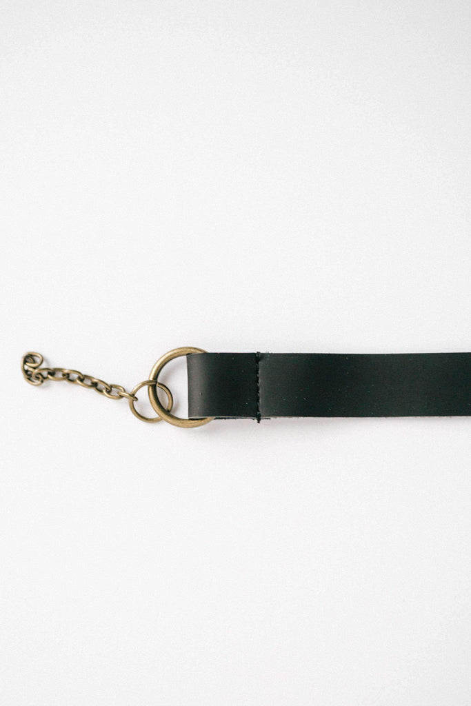 GiGi Pip Removable Leather Band - Chain