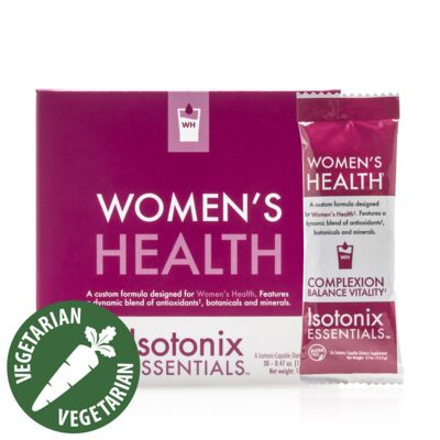 Women's Health Isotonix Essentials