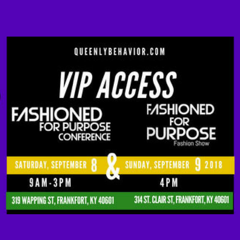 Fashioned for Purpose Conference and Fashion Show