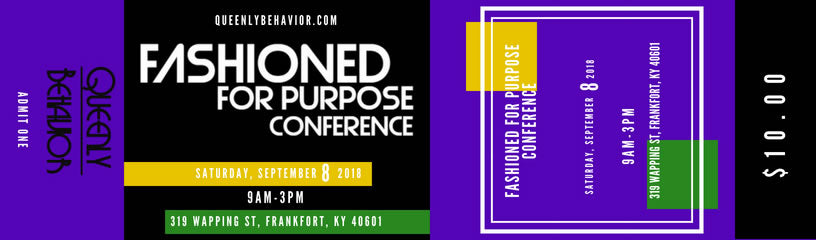 Fashioned For Purpose Conference Ticket