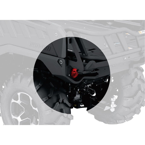 Tailgate Limiter Kit for G2 (6x6 models only)