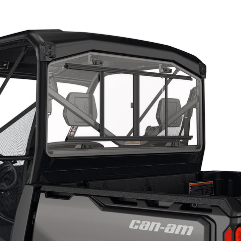 Rear Glass Window With Sliding Panel for Defender (except X mr models)