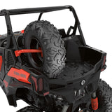 Lonestar Racing Spare Tire Holder for Maverick Trail, Maverick Sport, Maverick Sport MAX Can-Am Red