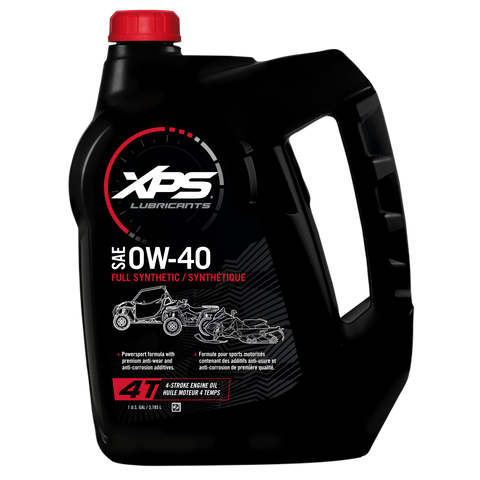 4T 0W-40 Synthetic Oil - 1 US gal. / 3,785 L