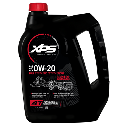 4T 0W-20 Extreme Cold Synthetic Oil - 1 US gal. / 3,785 L