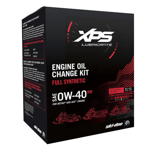 4T 0W-40 Synthetic Oil Change Kit for Rotax 600 ACE engine