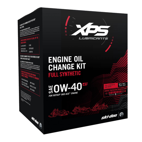 4T 0W-40 Synthetic Oil Change Kit for Rotax 900 ACE engine