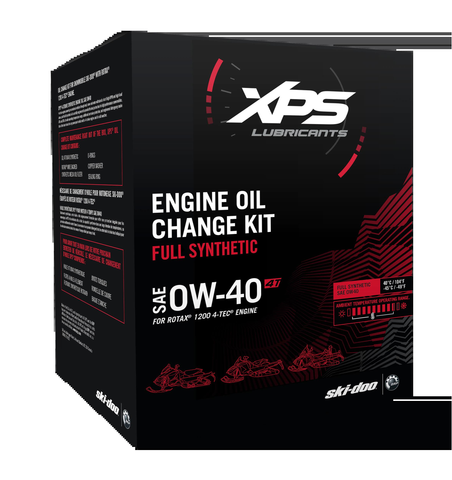 4T 0W-40 Synthetic Oil Change Kit for Rotax 1200 4-TEC engine