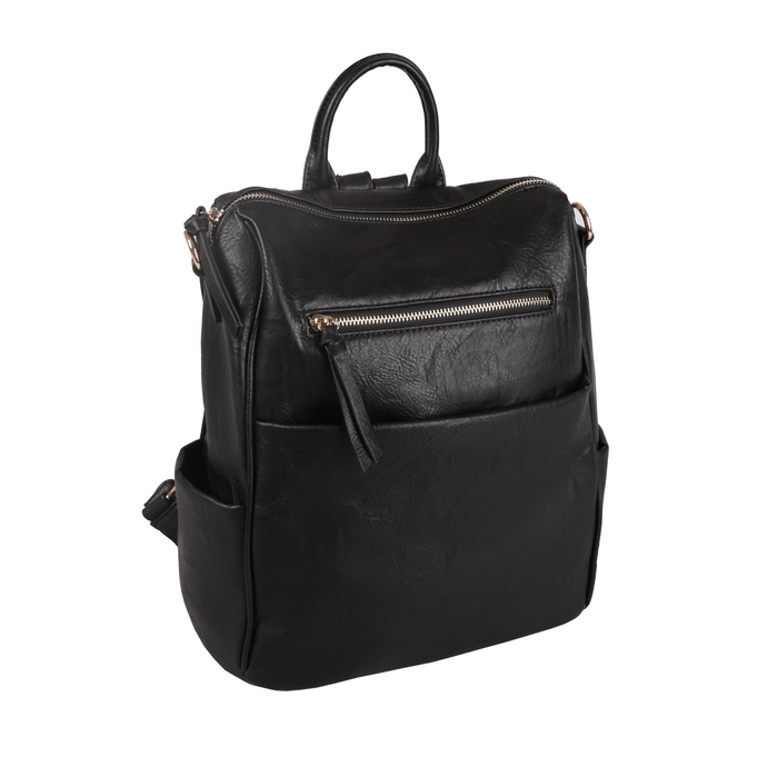 Boxy Backpack in Black