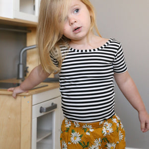 Daisy Pants in Navy or Yellow