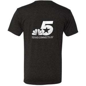 NBC 5 I Love Weather Men's Tri-Blend Jersey T-Shirt