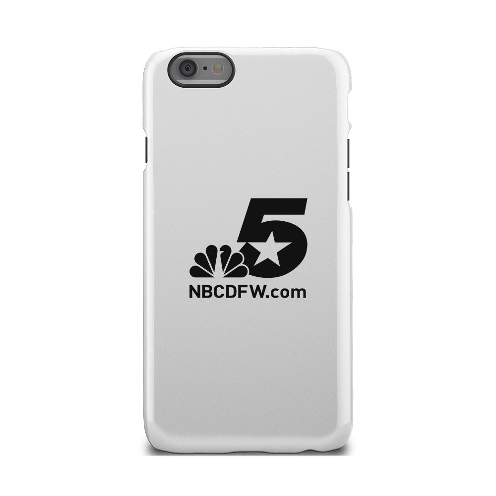 NBC 5 NBCDFW Black Logo iPhone Phone Case
