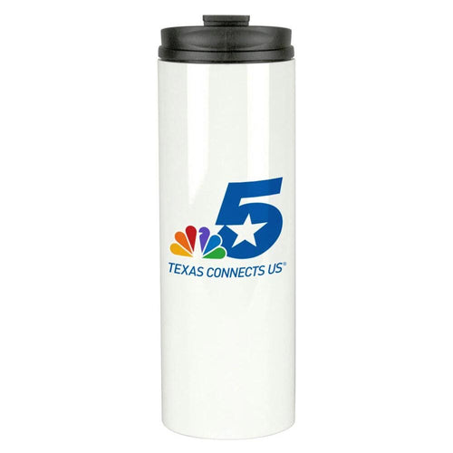 NBC 5 Logo 16 oz Thermal Tumbler