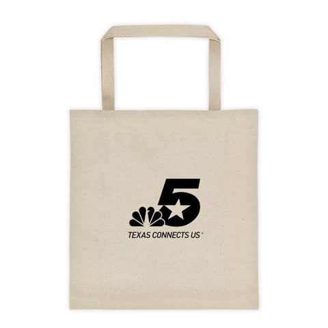 NBC 5 Texas Connects Us Logo Tote Bag