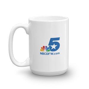 NBC 5 Texas Connects Us White Mug
