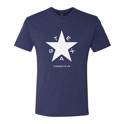 NBC 5 Texas Connects Us Men's Tri-Blend Jersey Short Sleeve T-Shirt