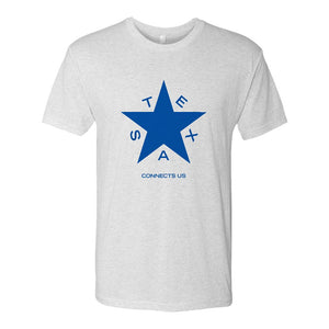 NBC 5 Texas Star Logo Men's Tri-Blend T-Shirt