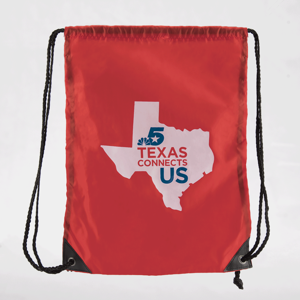 NBC 5 TXCU Drawstring Bag