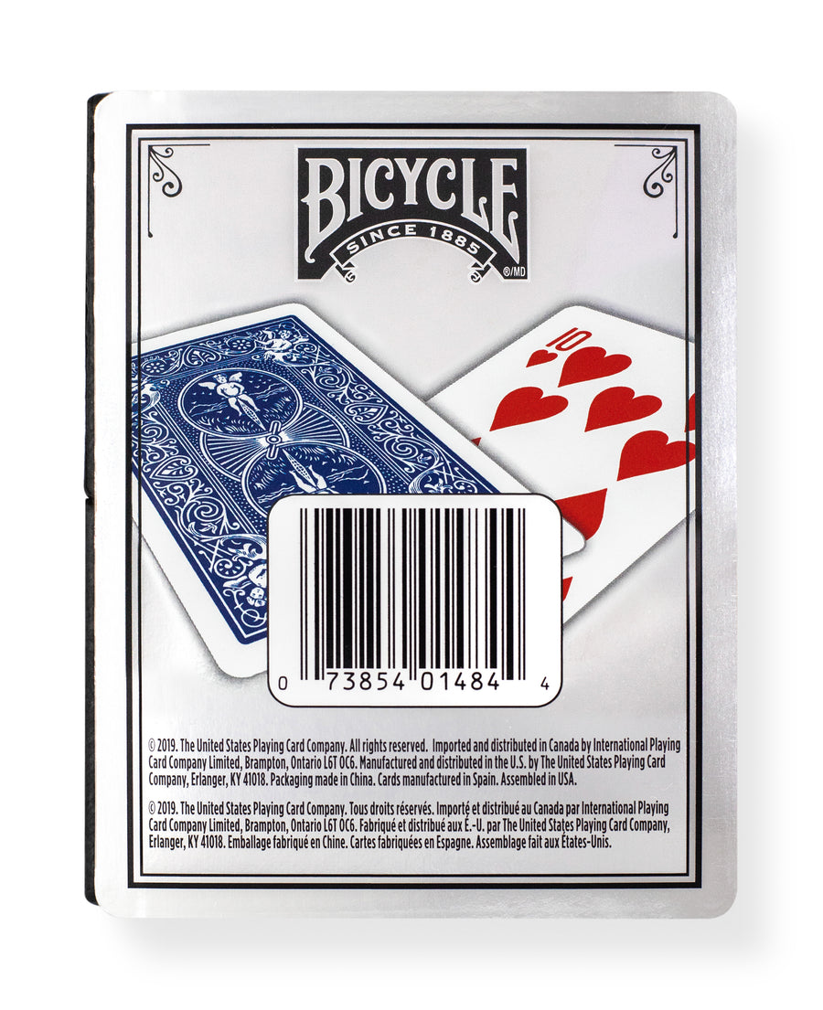 Bicycle Prestige: Rider Back Blue