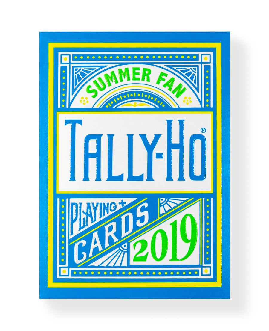 Tally-Ho Fan Back: Summer