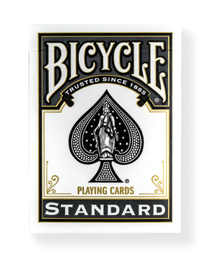 Bicycle Rider Back: Black (Standard Box)