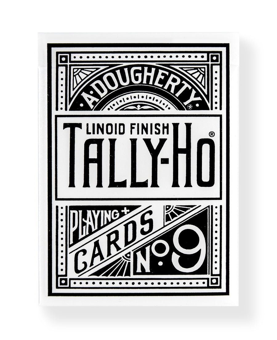Tally-Ho Fan Back: White