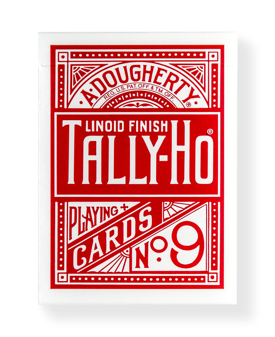 Tally-Ho Fan Back: Red