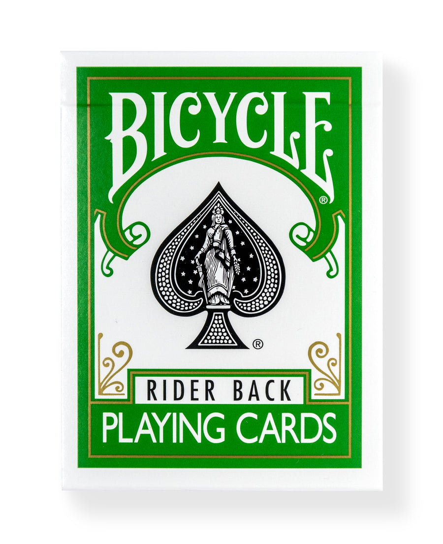 Bicycle Rider Back: Green