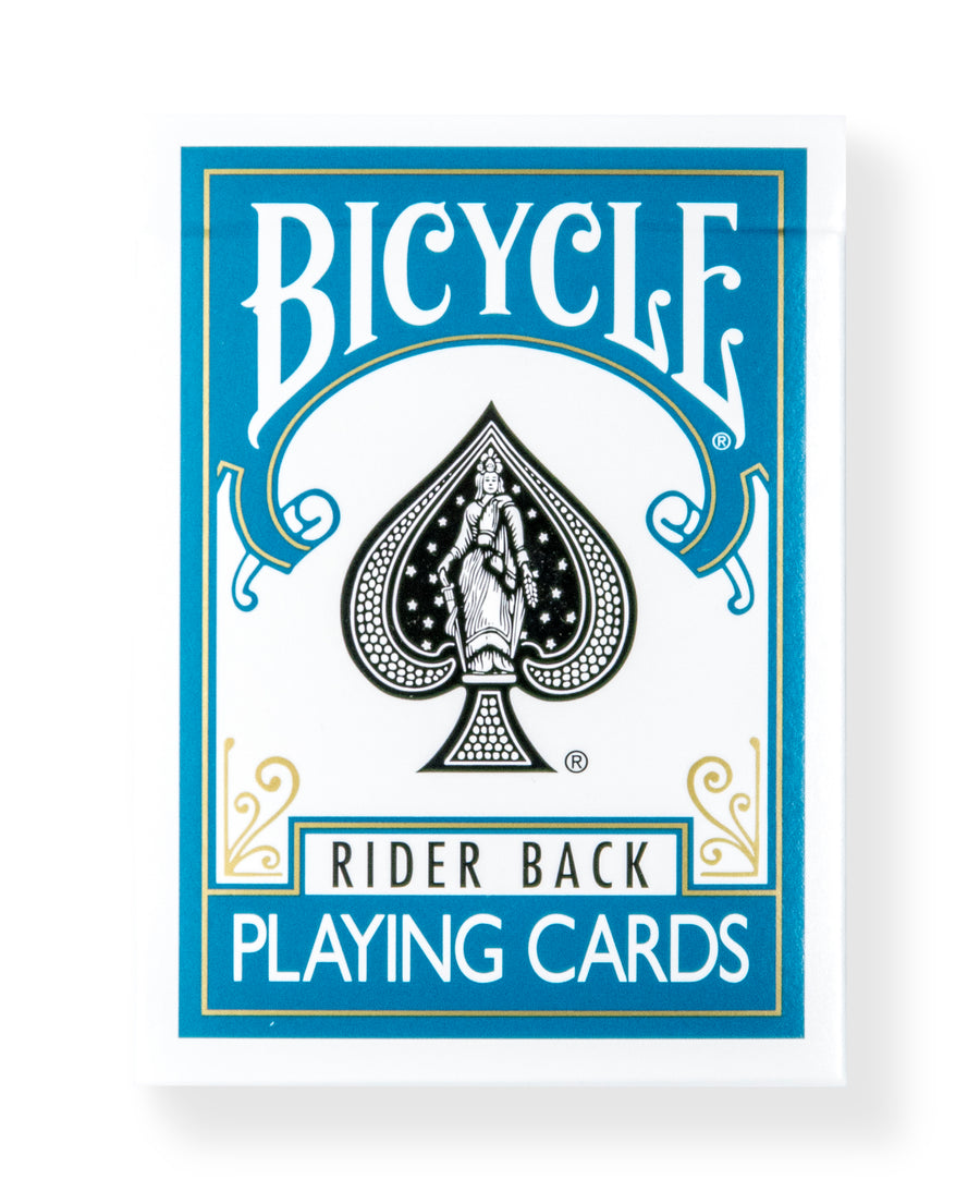 Bicycle Rider Back: Turquoise