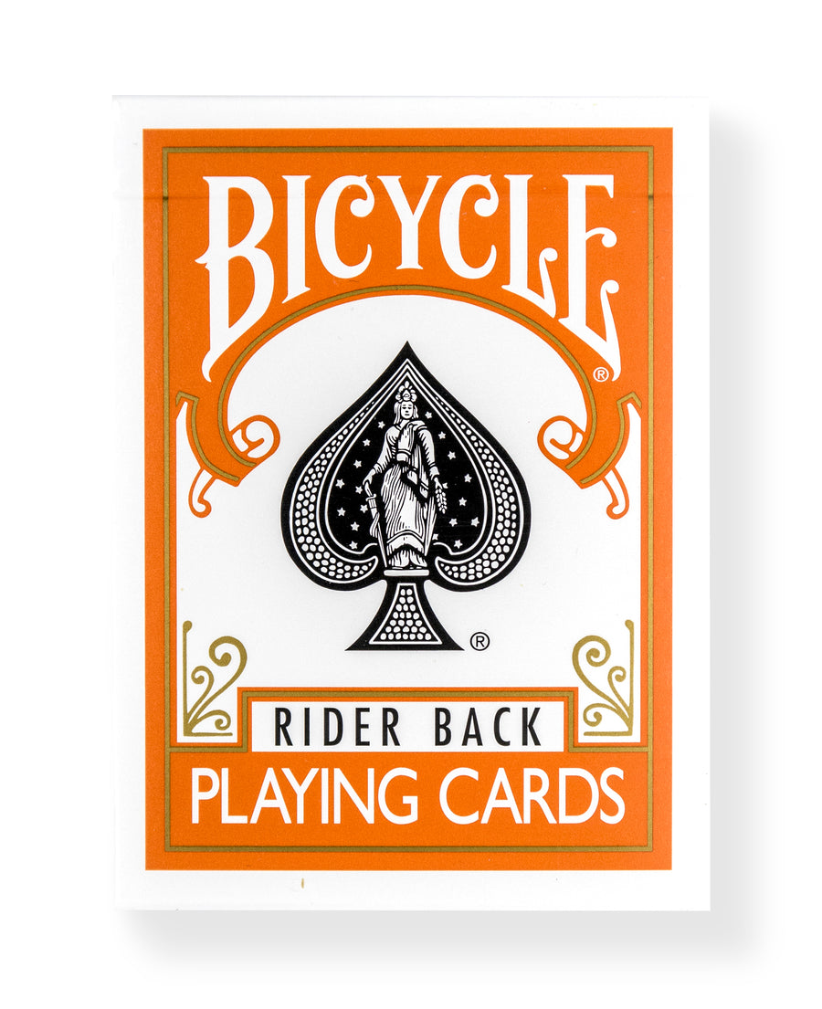 Bicycle Rider Back: Orange