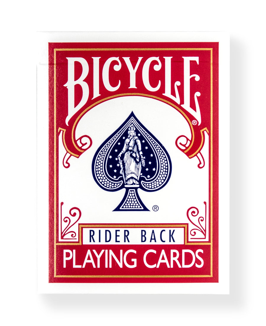 Bicycle Rider Back: Red