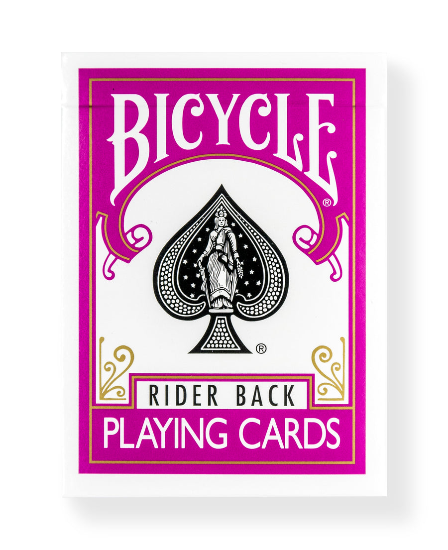 Bicycle Rider Back: Fuchsia