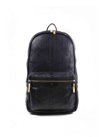APRIY, Backpack Midnight Blue Python - AYA Conceptstore