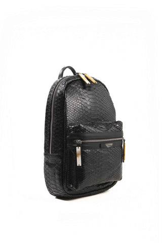 APRIY, Backpack Small, Black Python