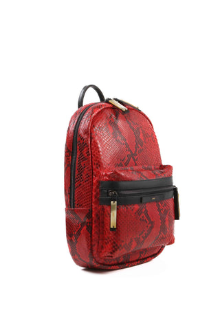 APRIY, Backpack Small, Red Python