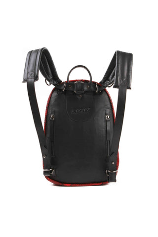 APRIY, Backpack Small Red Python - AYA Conceptstore
