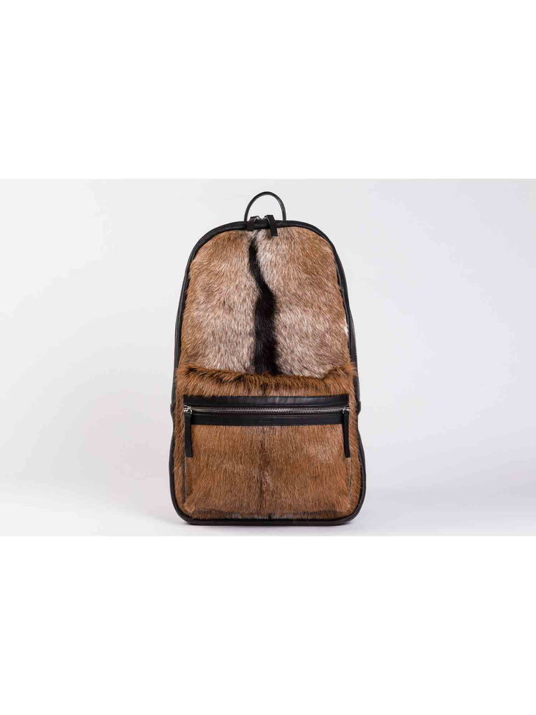 APRIY, Backpack Laptop, Goat Fur