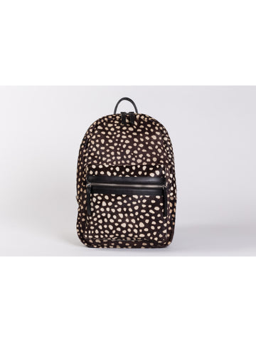 APRIY, Backpack Small, Dot Ponyhair