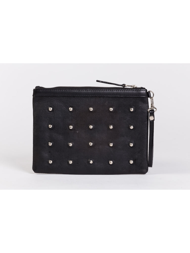 APRIY, Studded Pouch Bag