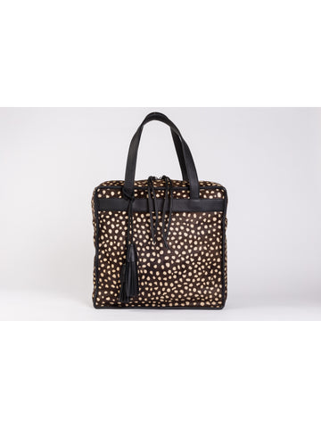 APRIY, Kotak XL Dots Ponyhair Bag