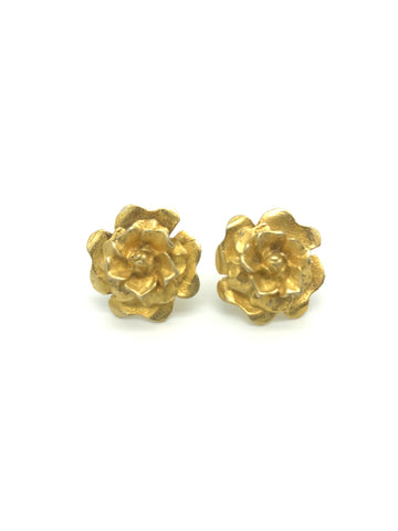 Subeng , Gold Rose Earring