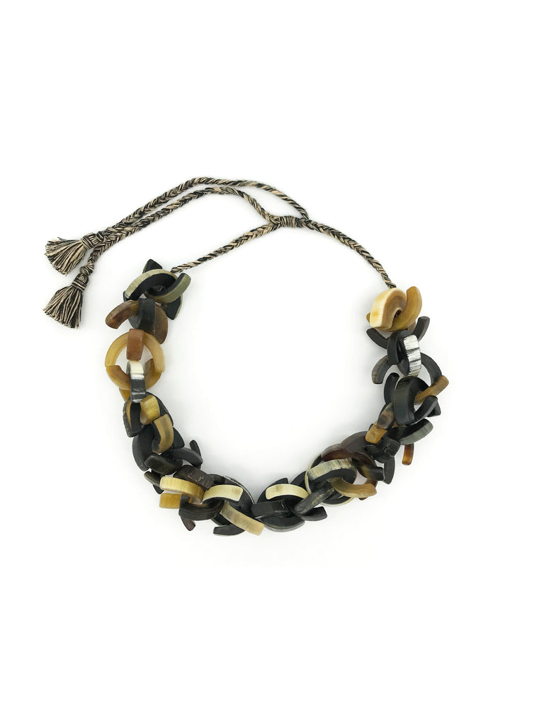 AYA By APRIY, U Horn Natural Necklace
